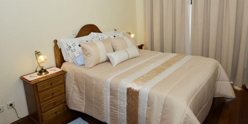 Quarto principal - Quarto espaçoso e confortável