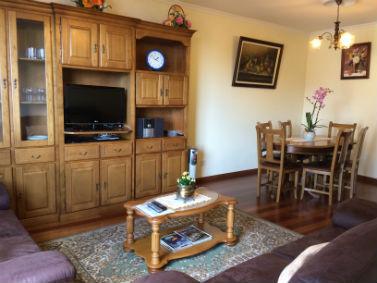 Sala de estar e jantar - Palheiro Residence