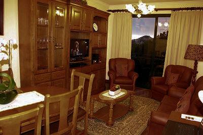 Sala de estar e jantar