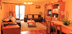 Livingroom and diningroom - Holiday apartments in Madeira-Funchal